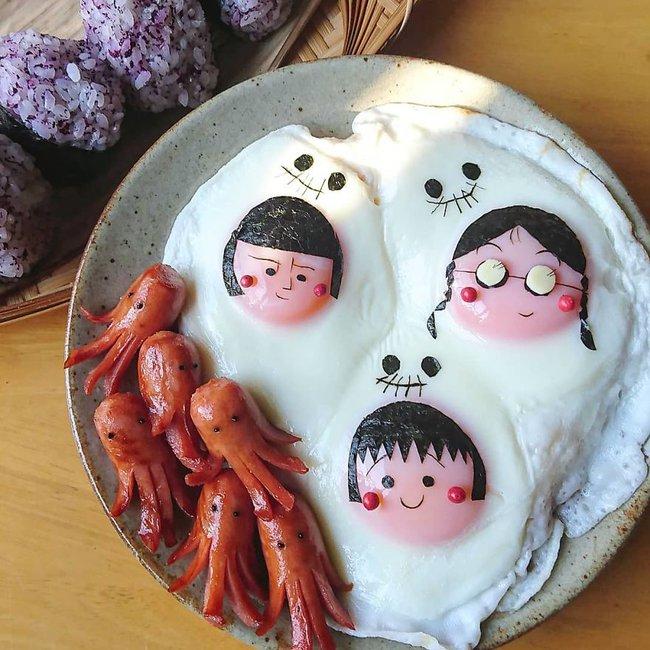 """""""Học lỏm"""" mẹ Nhật cách biến trứng chiên thành món ăn siêu hấp dẫn mà ai nhìn thấy cũng phải thèm thuồng - Ảnh 13."""