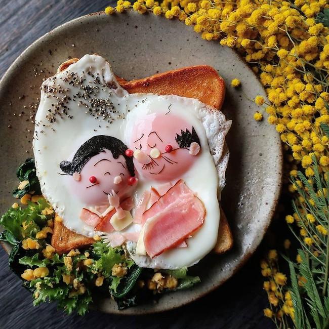 """""""Học lỏm"""" mẹ Nhật cách biến trứng chiên thành món ăn siêu hấp dẫn mà ai nhìn thấy cũng phải thèm thuồng - Ảnh 15."""