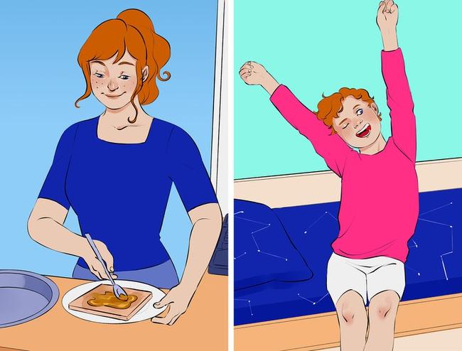 Đánh thức con dậy buổi sáng sẽ dễ như trở bàn tay nếu cha mẹ áp dụng những chiêu này - Ảnh 2.