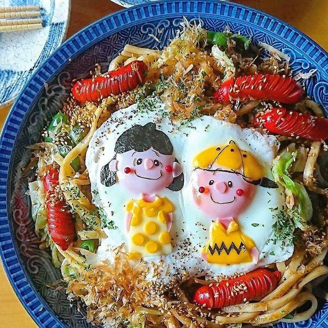 """""""Học lỏm"""" mẹ Nhật cách biến trứng chiên thành món ăn siêu hấp dẫn mà ai nhìn thấy cũng phải thèm thuồng - Ảnh 22."""