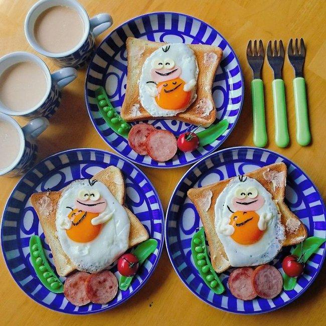"""""""Học lỏm"""" mẹ Nhật cách biến trứng chiên thành món ăn siêu hấp dẫn mà ai nhìn thấy cũng phải thèm thuồng - Ảnh 23."""