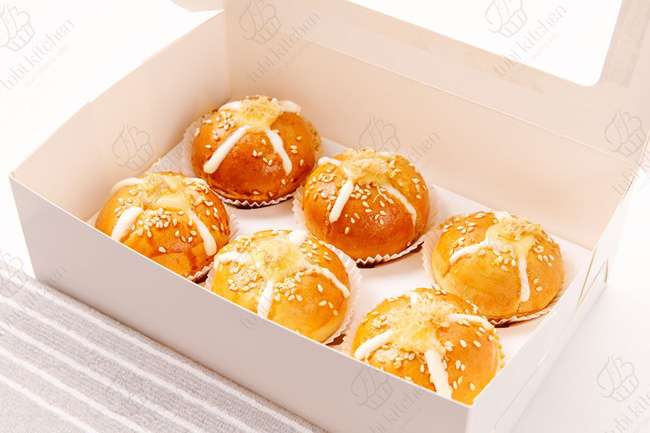 Độc quyền: Hot mom Huỳnh Phương Trang chia sẻ công thức bánh mì phô mai bơ tỏi Hàn Quốc cực đỉnh - Ảnh 2.