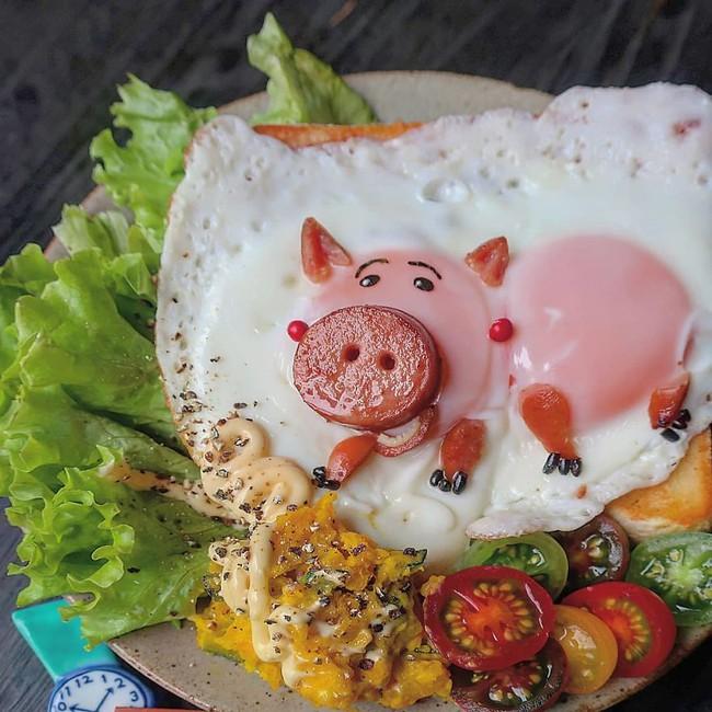 """""""Học lỏm"""" mẹ Nhật cách biến trứng chiên thành món ăn siêu hấp dẫn mà ai nhìn thấy cũng phải thèm thuồng - Ảnh 7."""