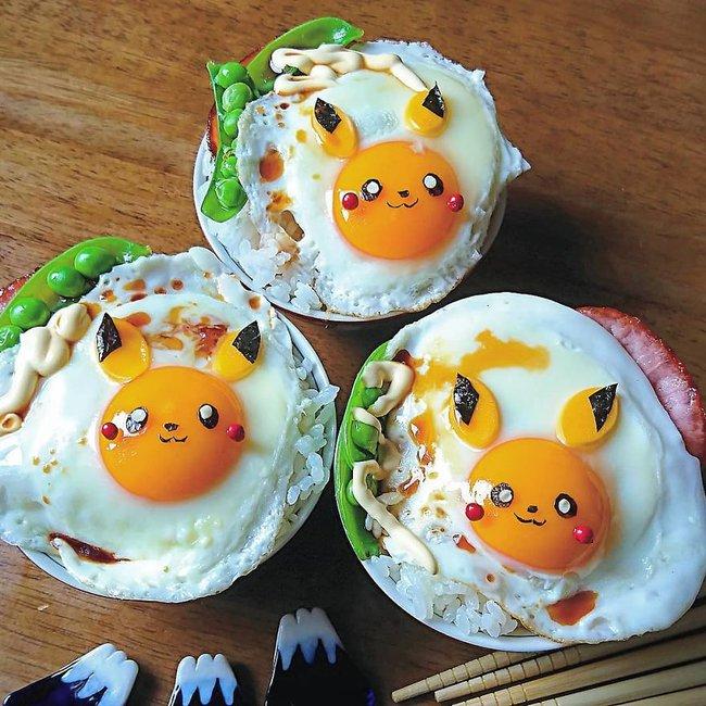 """""""Học lỏm"""" mẹ Nhật cách biến trứng chiên thành món ăn siêu hấp dẫn mà ai nhìn thấy cũng phải thèm thuồng - Ảnh 2."""