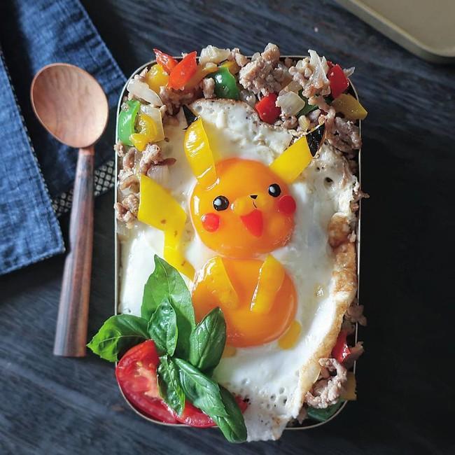 """""""Học lỏm"""" mẹ Nhật cách biến trứng chiên thành món ăn siêu hấp dẫn mà ai nhìn thấy cũng phải thèm thuồng - Ảnh 9."""