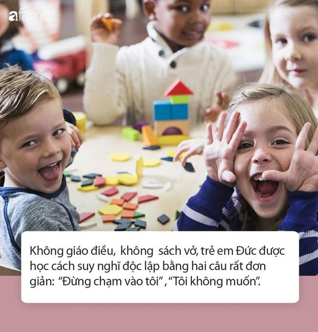 Trường mẫu giáo Đức dạy trẻ suy nghĩ độc lập chỉ bằng hai câu, rất đáng để suy ngẫm - Ảnh 3.