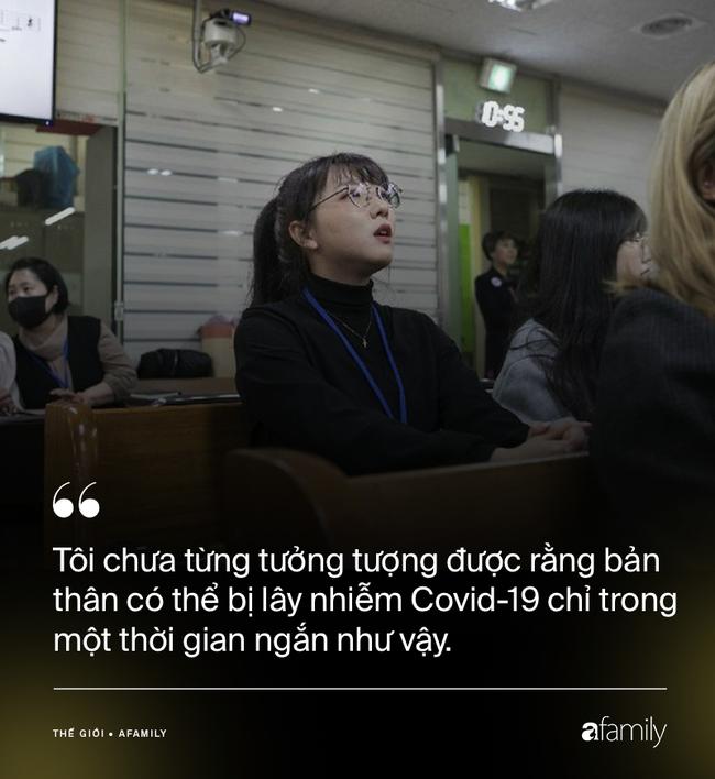 """Chỉ 10 phút cởi bỏ khẩu trang, nữ sinh Hàn Quốc bị lây nhiễm Covid-19 từ người bệnh và trải nghiệm đau đớn: """"Tôi cảm giác như ruột bị xé toạc""""  - Ảnh 1."""