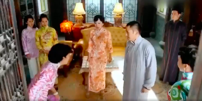 Hoa Đán TVB - Tuyên Huyên: Bị tát vào mặt liên tục, đứng không vững vẫn gào khóc diễn tiếp - Ảnh 3.