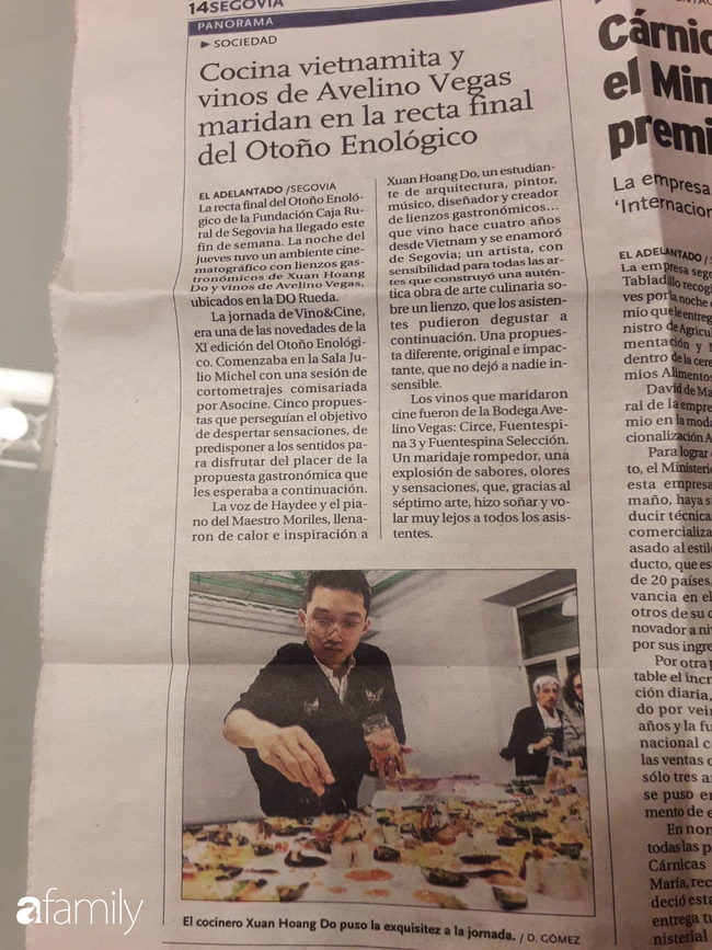 """Trò chuyện với chàng du học sinh người Việt đang nổi đình đám nhờ tài vừa nấu vừa """"vẽ"""" bằng đồ ăn: """"Em sẽ thiết kế và kiêm luôn đầu bếp nhà hàng của riêng mình"""" - Ảnh 11."""