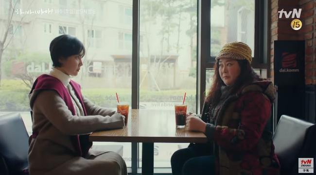 """""""Hi Bye, Mama"""": Kim Tae Hee hóa """"chị đại xã hội đen"""" siêu ngầu, đối đầu với thần chết Pyo Chi Su (Crash Landing On You)? - Ảnh 4."""