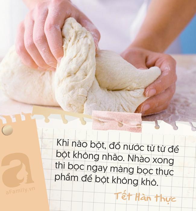 7 lưu ý bạn cần nhớ nằm lòng khi làm bánh trôi bánh chay Tết Hàn thực - Ảnh 3.