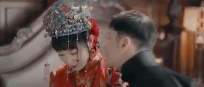 """""""Bên tóc mai không phải Hải Đường Hồng"""": Lộ cảnh động phòng ngượng đỏ mặt của Xa Thi Mạn - Huỳnh Hiểu Minh - Ảnh 6."""