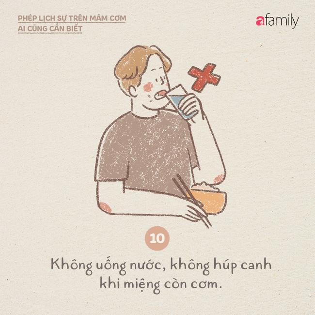 Những ngày này ăn cơm nhà nhiều, mọi người lại cần biết những phép lịch sự này  - Ảnh 10.