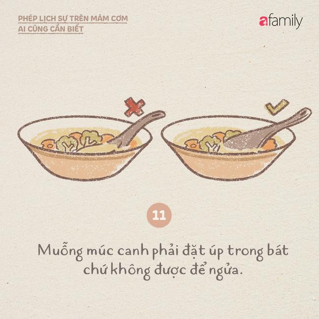 Những ngày này ăn cơm nhà nhiều, mọi người lại cần biết những phép lịch sự này  - Ảnh 11.
