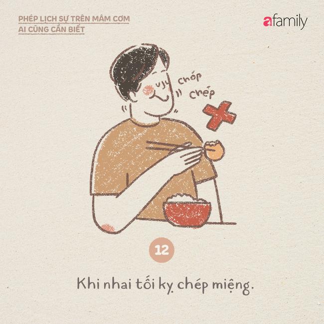 Những ngày này ăn cơm nhà nhiều, mọi người lại cần biết những phép lịch sự này  - Ảnh 12.