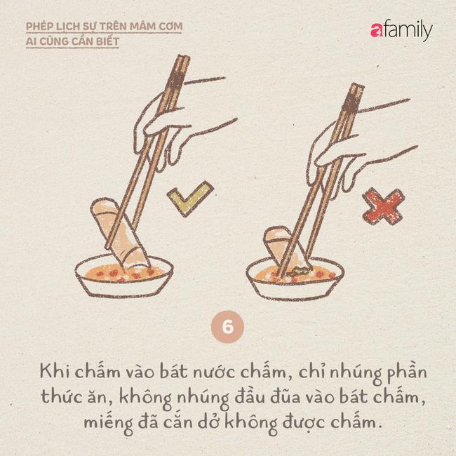 Những ngày này ăn cơm nhà nhiều, mọi người lại cần biết những phép lịch sự này  - Ảnh 6.