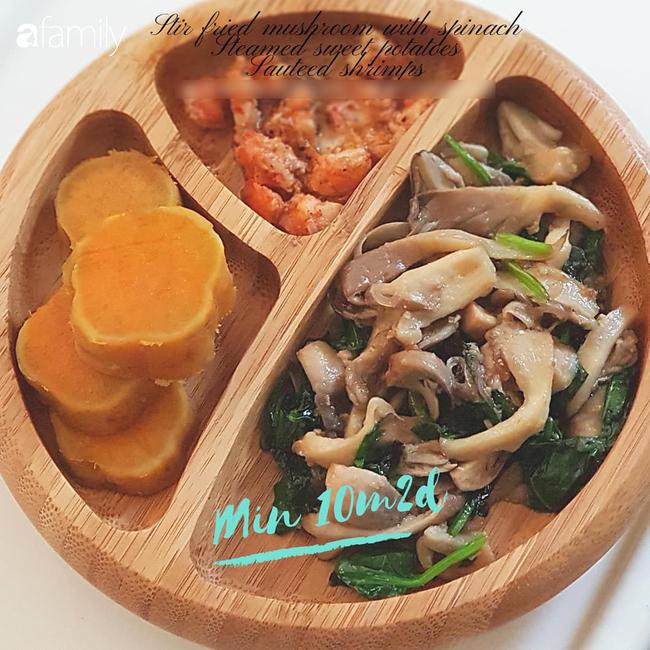 Học lỏm mẹ Biên Hoà bí quyết chuẩn bị bữa ăn dặm nhanh gọn, mẹ bận mấy thì con vẫn có món ngon và đủ chất - Ảnh 19.