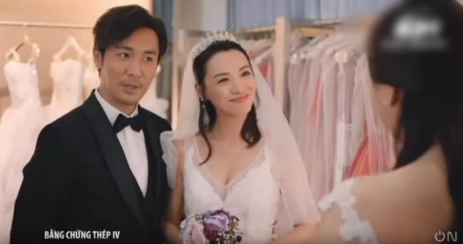 """""""Bằng chứng thép 4"""" của TVB: Bùng nổ cảnh đám cưới, vòng 1 căng đầy của Top 5 Hoa hậu Hồng Kông gây chú ý - Ảnh 8."""