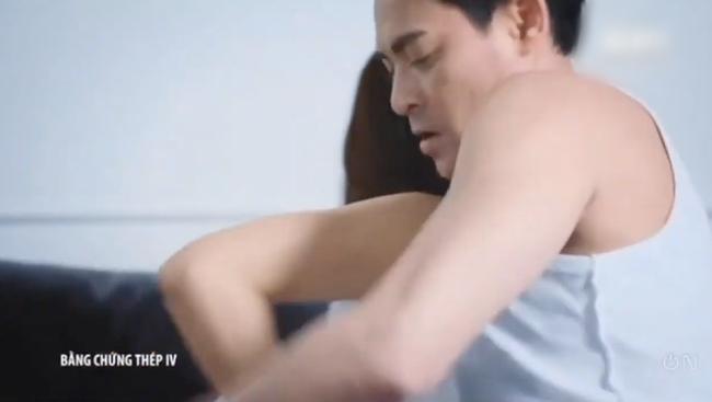 """""""Bằng chứng thép 4"""" tập cuối: TVB tung cảnh 18+ nhạy cảm, Lý Thi Hoa đang ân ái bỗng dừng lại vì điều không ngờ  - Ảnh 6."""