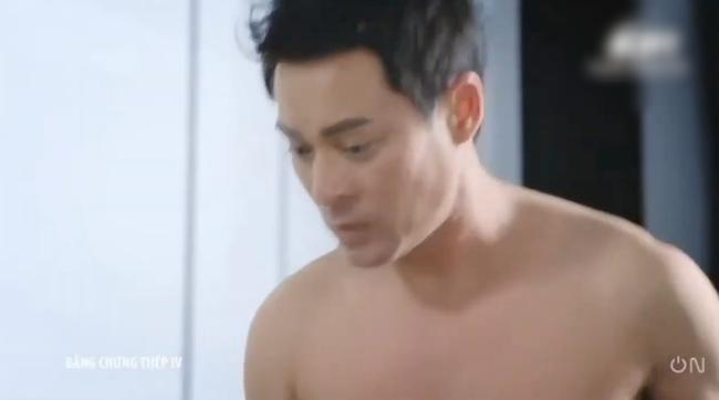"""""""Bằng chứng thép 4"""" tập cuối: TVB tung cảnh 18+ nhạy cảm, Lý Thi Hoa đang ân ái bỗng dừng lại vì điều không ngờ  - Ảnh 9."""