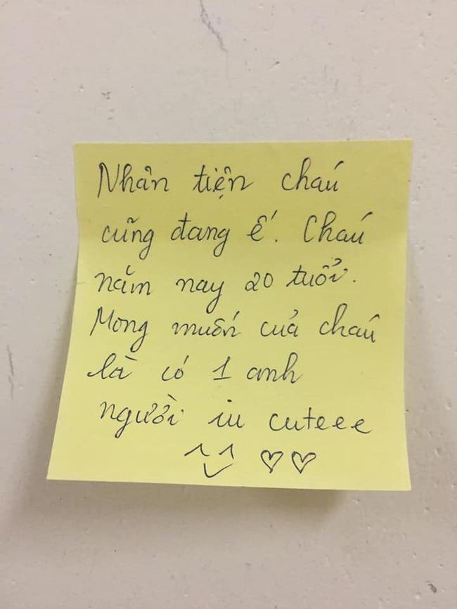 """Cô sinh viên trẻ để lại mẩu giấy nhỏ cùng lời nhắn siêu dễ thương tới """"chủ mới"""" cách ly ở ký túc xá, không quên chốt hạ câu cuối """"cưng muốn xỉu"""" - Ảnh 6."""