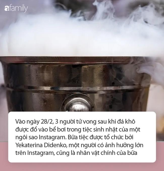 Đổ đá khô xuống bể bơi trong tiệc sinh nhật, sao Instagram khiến 3 người chết thảm - Ảnh 1.