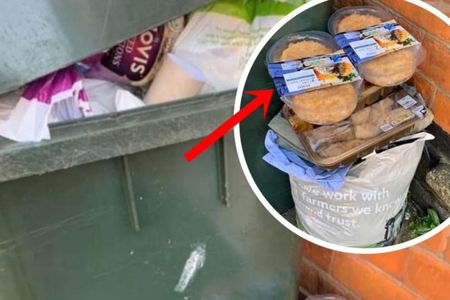 """Sau """"cơn bão"""" tích trữ thực phẩm vì Covid-19, thùng rác trên phố xuất hiện những thứ khiến nhiều người phải giật mình tự nhìn lại bản thân - Ảnh 1."""