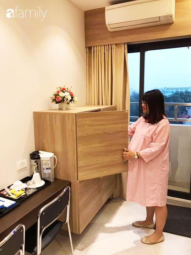 """Mẹ Hà Nội đi đẻ """"sướng như tiên"""" hết 32 triệu: Phòng nghỉ tiện nghi, bác sĩ quan tâm thường xuyên, xuất viện có xe đưa về - Ảnh 4."""