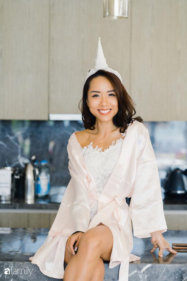 """My Lan Nguyễn - Cô gái có cuộc tình như mơ từ FB và sự """"đấu tranh"""" với phụ huynh để mặc váy cưới đuôi cá màu tím, đội sừng Unicorns trong hôn lễ của chính mình - Ảnh 18."""