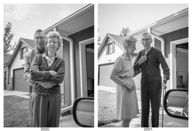 """Bộ ảnh """"Rời đi và vẫy chào"""" mất gần 30 năm hoàn thiện gây xúc động toàn thế giới bởi cha mẹ đã nằm xuống nhưng tình cảm vẫn đong đầy như ngày nào! - Ảnh 5."""