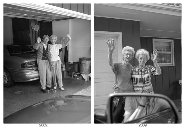 """Bộ ảnh """"Rời đi và vẫy chào"""" mất gần 30 năm hoàn thiện gây xúc động toàn thế giới bởi cha mẹ đã nằm xuống nhưng tình cảm vẫn đong đầy như ngày nào! - Ảnh 10."""
