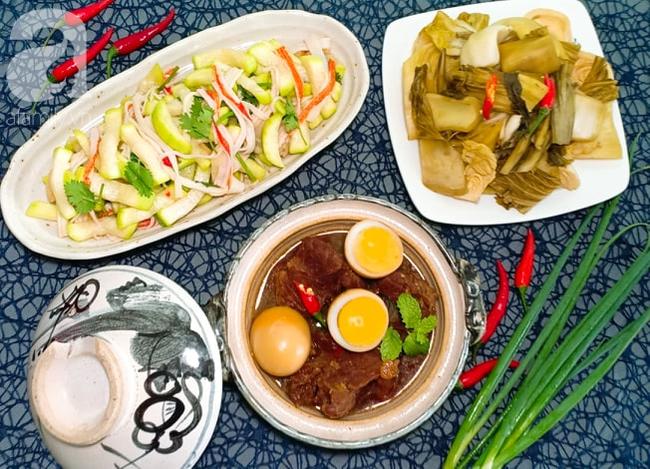Mẹ đảm Sài Gòn chia sẻ mâm cơm 2 món lạ miệng dễ nấu, vụng mấy cũng làm được! - Ảnh 14.