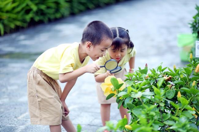 Lợi ích kì diệu khi trẻ được vui chơi trong vườn với cỏ cây, hoa lá - Ảnh 2.