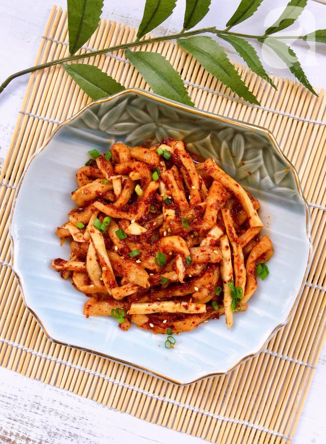 Mua củ cải khô thì làm ngay kim chi củ cải khô để dành ăn dần được rất lâu các mẹ nhé! - Ảnh 6.