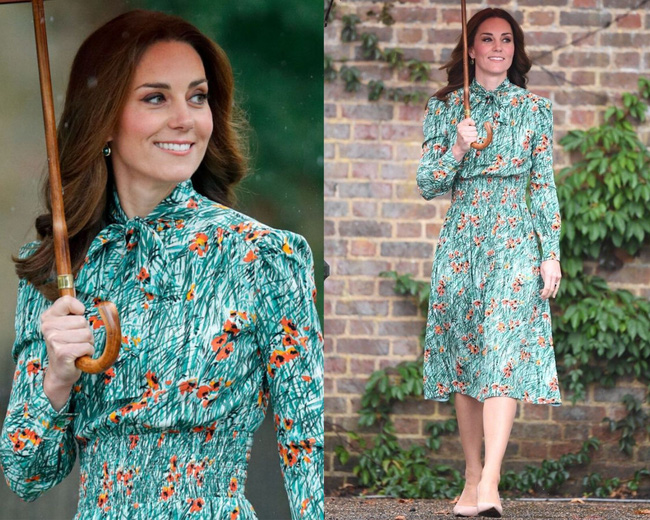 """Công nương Kate sở hữu rất nhiều """"vũ khí"""" thời trang lợi hại, trong đó có váy áo cổ nơ buộc cứ diện lên là sang ngút ngàn - Ảnh 6."""