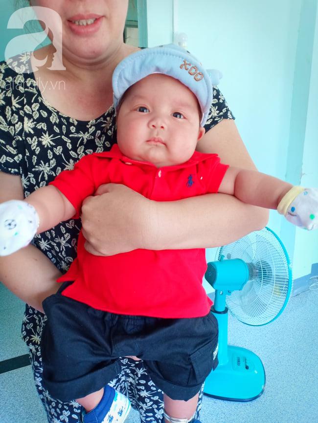 Mẹ 9x Đồng Nai sinh non ở tuần 34, con bị vàng da, viêm phổi và sự thay đổi ngỡ ngàng của em bé sau 7 tháng gặp lại - Ảnh 3.