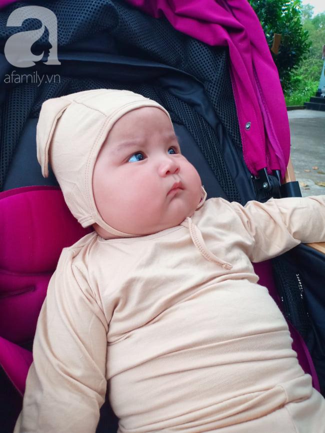 Mẹ 9x Đồng Nai sinh non ở tuần 34, con bị vàng da, viêm phổi và sự thay đổi ngỡ ngàng của em bé sau 7 tháng gặp lại - Ảnh 5.