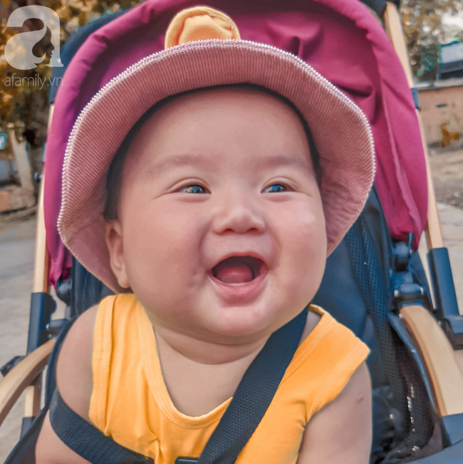 Mẹ 9x Đồng Nai sinh non ở tuần 34, con bị vàng da, viêm phổi và sự thay đổi ngỡ ngàng của em bé sau 7 tháng gặp lại - Ảnh 9.