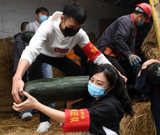 """Loạt ảnh về những đóa hồng kiên cường tại tâm dịch Vũ Hán: Khi sức mạnh của """"phái yếu"""" được chứng minh và nụ cười tích cực trước mọi khó khăn - Ảnh 3."""