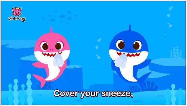 """Bố mẹ cho con xem bài hát """"Baby Shark"""" phiên bản rửa tay này, đảm bảo trẻ nào cũng biết rửa tay đúng cách - Ảnh 7."""