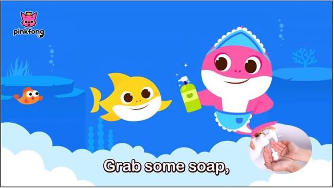 """Bố mẹ cho con xem bài hát """"Baby Shark"""" phiên bản rửa tay này, đảm bảo trẻ nào cũng biết rửa tay đúng cách - Ảnh 3."""