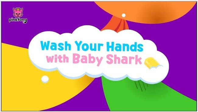 """Bố mẹ cho con xem bài hát """"Baby Shark"""" phiên bản rửa tay này, đảm bảo trẻ nào cũng biết rửa tay đúng cách"""