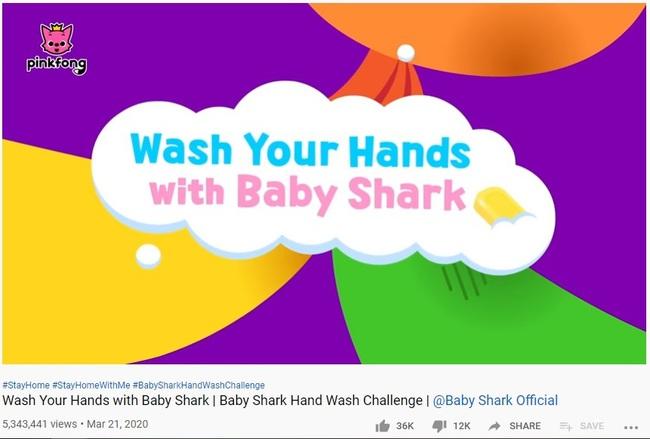 """Bố mẹ cho con xem bài hát """"Baby Shark"""" phiên bản rửa tay này, đảm bảo trẻ nào cũng biết rửa tay đúng cách - Ảnh 11."""