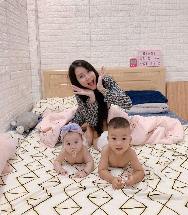 """Hot mom 9X triệu người mê Thanh Trần """"ăn vạ"""" chồng vì tội xài hao, than đẻ 2 con xong trông như """"chị hà bá"""" - Ảnh 3."""