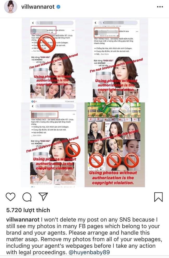 """Nữ diễn viên nổi tiếng Thái Lan """"bóc phốt"""" Huyền Baby tận 2 lần vì ăn cắp hình ảnh, khẳng định sẽ dùng pháp luật xử lý - Ảnh 3."""