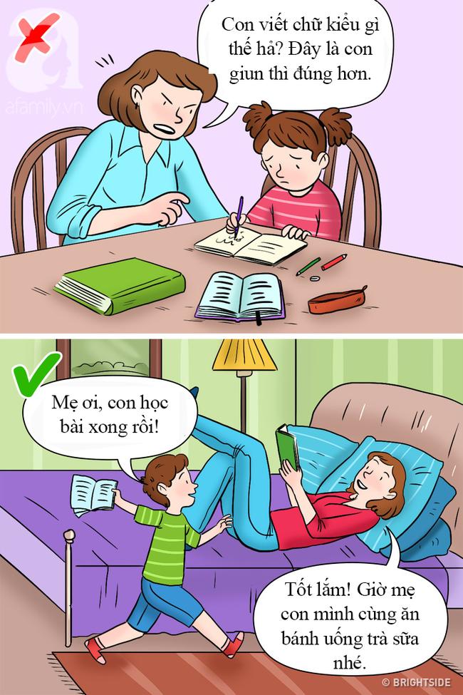 Biết được 3 lý do này, cha mẹ sẽ thôi không ngồi kèm con học mỗi tối, bởi lợi đâu chưa thấy mà đã thấy hại con - Ảnh 2.