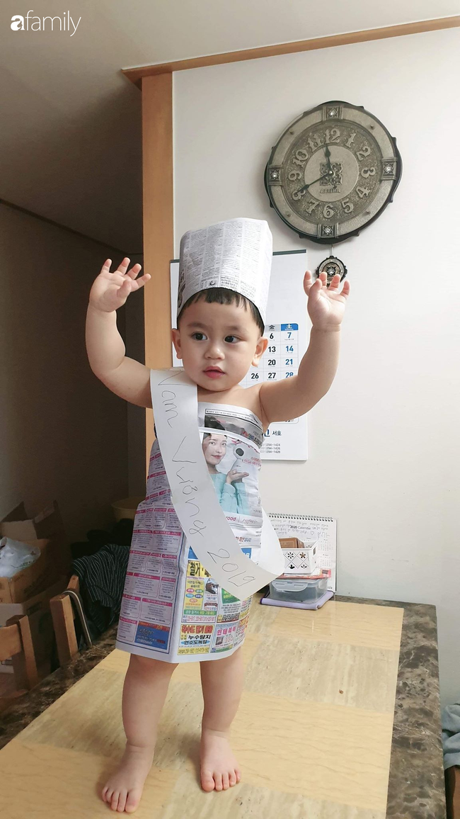 """Mẹ bỉm sữa lấy đồ dùng trong nhà thiết kế 500 bộ trang phục cho con, dân mạng hài hước: """"Hậu quả của việc ở nhà trông con quá lâu"""" - Ảnh 8."""