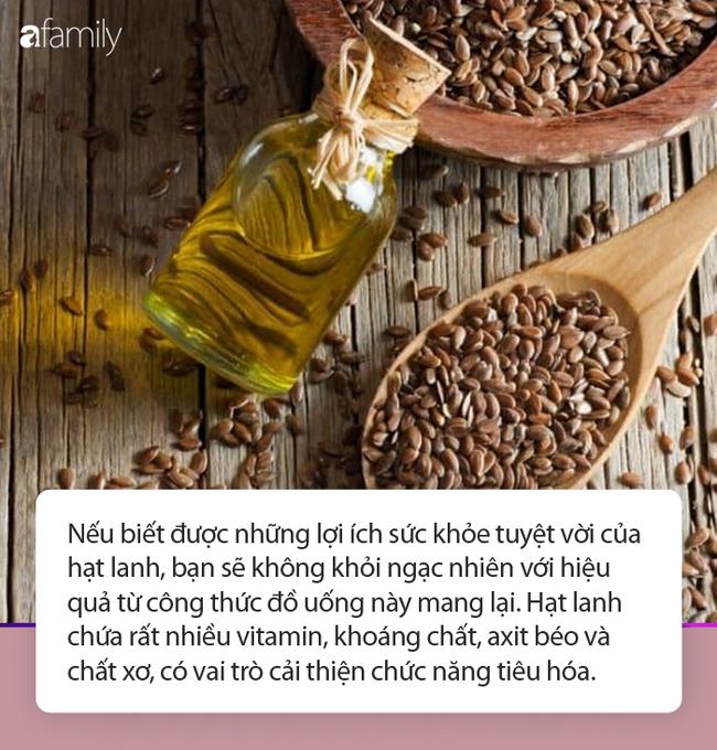 Mỗi ngày một thìa hạt, đổ thêm chút nước sôi, chị em có ngay đồ uống chống viêm, eo thắt như con kiến và làn da thì cứ được thể căng mịn - Ảnh 1.