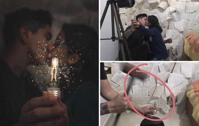 """Cặp đôi có bức ảnh hôn đắm say lãng mạn đẹp như cổ tích, ẩn sau đó là sự thật """"trần trụi"""" khiến mọi người từ ngạc nhiên đến bái phục - Ảnh 22."""
