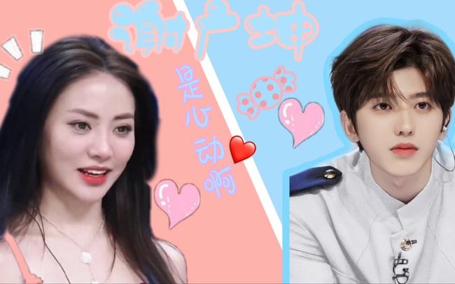 Giữa tin đồn hẹn hò với Lisa (BLACKPINK), Thái Từ Khôn liếc mắt đưa tình với thí sinh Tạ Khả Dần  - Ảnh 3.